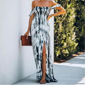 2020 new women's loose strapless sexy tube top dress