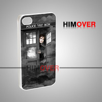 Doctor Who David Tennant Tardis - iPhone 4/4s/5/5s/5c Case - Samsung Galaxy s2/s3/s4 Case - Black or White