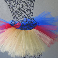Running Tutu:  Snow White Pixie Length (9 inches) Tutu