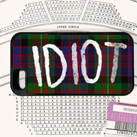 5sos Phone Case | Michael's Idiot Plaid Shirt in Red, Green, Yellow, Red, Blue and Black