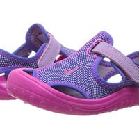 Nike Kids Sunray Protect (Infant/Toddler) Hydrangeas/Fire Pink/Comet Blue - Zappos.com Free Shipping BOTH Ways