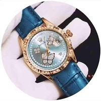 Rolex Women Fashion Quartz Movement Watch Wristwatch