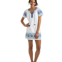Medallion Popover Dress