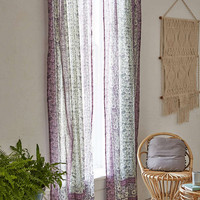 Melody Purple Curtain Panel - Urban Outfitters