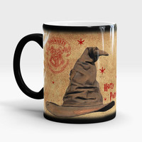 Gryffindor mug, Color Changing Mug, Best Harry Potter, Coffee Mug, Harry Potter Magic Mug, Sorting Hat Gryffindor, Unique Mug, Gift Mug