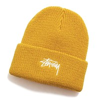HO19 Stock Cuff Beanie Saffron Yellow