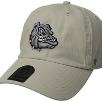 NCAA Gonzaga Bulldogs Clean Up Adjustable Hat, Natural, One Size