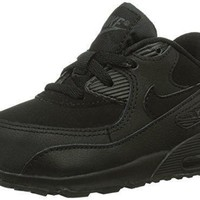 Nike Air Max 90 (TD) Black Infant/Toddler Runniing Shoes 408110-091 (6) womens nike a