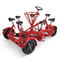 The Only Seven Person Tricycle