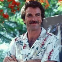 Magnum P.i. Color Poster Tom Selleck Arms Folded