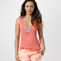 AE Beaded Embroidery Tank   American Eagle Outfitters