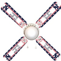 """New York Yankees 42"""" Ceiling Fan and Lamp"""