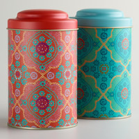 Mosaic Tea Tins, Set of 2 - World Market