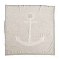 Collection baby cashmere blanket in anchor
