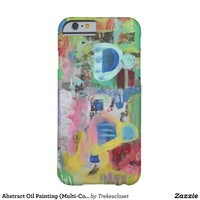 Abstract Oil Painting (Multi-Color) Barely There iPhone 6 Case