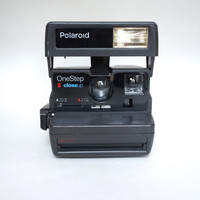 Polaroid One Step Close Up 600 Instant Film Camera Takes Impossible Project Film!
