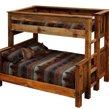 Barnwood Bunk Bed