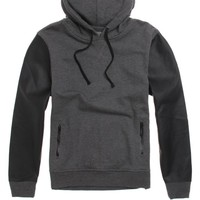 Brooklyn Cloth Pullover Hoodie - Mens Shirt - Black -