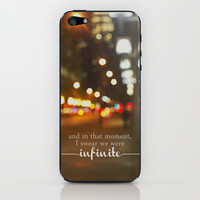 perks of being a wallflower - we were infinite iPhone & iPod Skin by Lissalaine | Society6