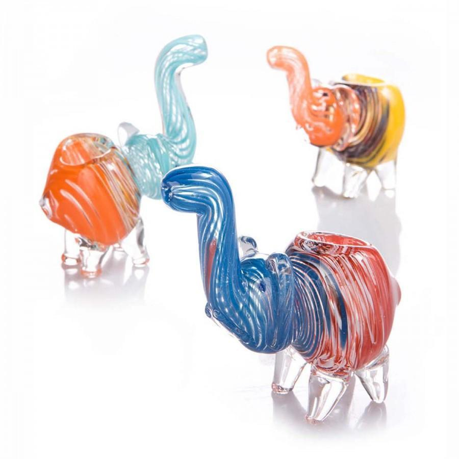Image of Elephant Glass Pipe