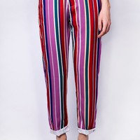 Colleene Bright Stripe Pants