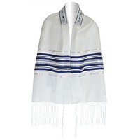 Blue And Silver Striped Ariel Talis
