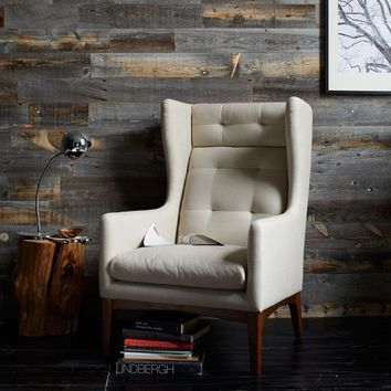 James Harrison Wing Chair - Fabric