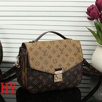 LV Fashionable Women Louis Vuitton Monogram Leather Handbag Shoulder Bag Crossbody Satchel I/A