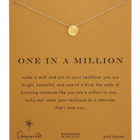 One in a Million Gold-Dipped Necklace - Dogeared