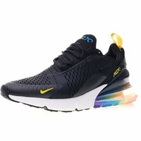 """Nike air max 270 betrue """"Black With Colorful"""" Running Shoes AH8050-025"""