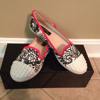 Abstract Hand Painted Shoes