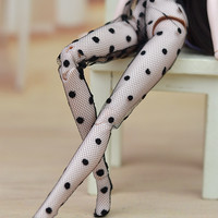 Fashion Doll Accesssories High Quality Handmade Mesh Stocking Lace Bottoms Trousers Pants Legging For Barbie Doll Clothes