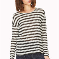 By The Sea Open-Knit Top