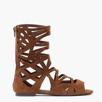 Solo Sandals in Tan