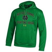 Notre Dame Under Armour Weather Tech Hoodie Sweatshirt - Men's Size XL - NWT