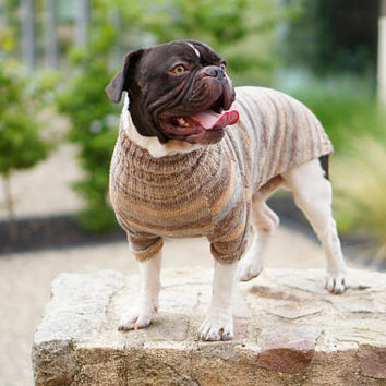 Dog Clothes Frenchie clothing Dog sweater French Bulldog Sweater Pet clothes Jumper For Dogs Pet Tops Dog Clothing Dog Apparel Pet Sweater