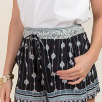 Sharon Morocco Printed Soft Shorts