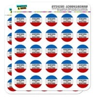 President Hillary Clinton 2016 Vice-President Michelle Obama 1' Scrapbooking Crafting Stickers