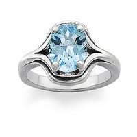 Adriana Ring with Blue Topaz | James Avery