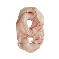 AEO Sparkle Plaid Loop Scarf | American Eagle Outfitters