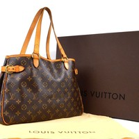 Auth [Good] LOUIS VUITTON Batignolles Horizontal M51154 w/Box Bag(Used) 55627