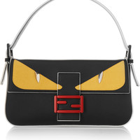 Fendi - Bag Bugs Baguette leather shoulder bag