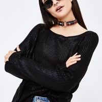 Came To Play Knit Sweater