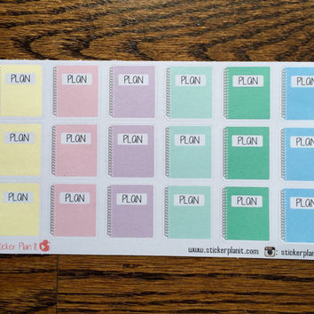 Plan Stickers - Erin Condren Planner Sticker - Filofax - Kikki K - Scrapbook