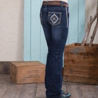 Cowgirl Up Diamond Dreams Jean