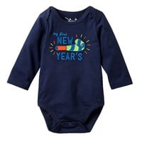 Jumping Beans ''My First New Year's'' Bodysuit - Baby Boy, Size: