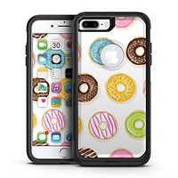 Yummy Colored Donuts - iPhone 7 or 7 Plus Commuter Case Skin Kit