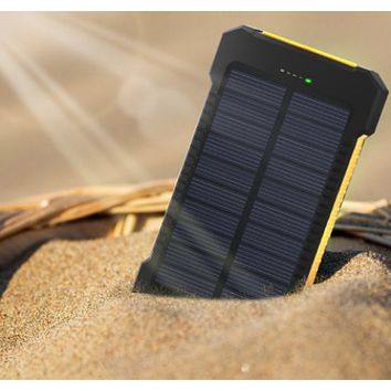 Outdoor Solar Power Bank Battery for Iphone charge