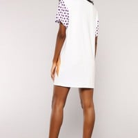 Feeling Foxy Tunic - White