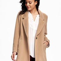Wool-Blend Everyday Coat for Women | Old Navy